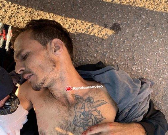 Identificado criminoso baleado após tentar assaltar policial penal