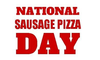 National Sausage Pizza Day Wishes Unique Image