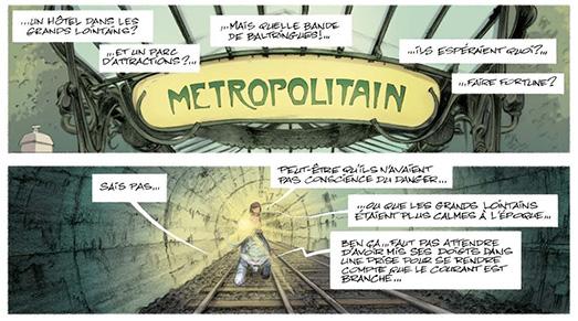 Ninn T3 - L'édicule du Métropolitain par Hector Guimard