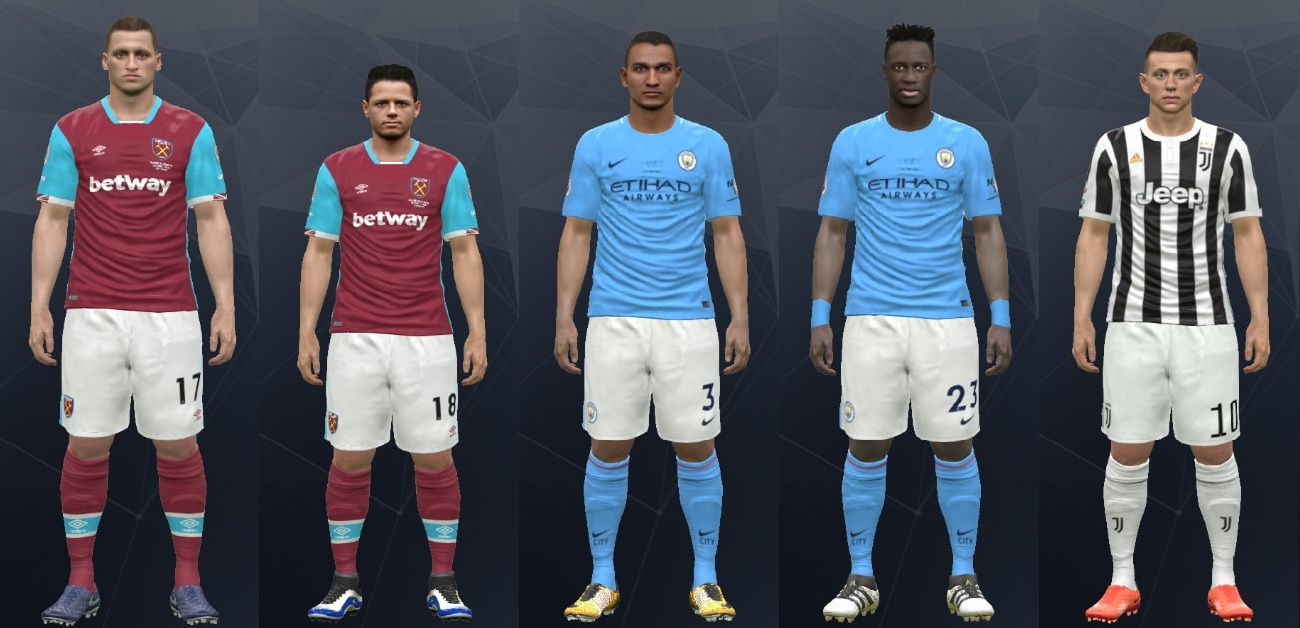 PES 2017 Option File Update Version 1.5 by Mackubex
