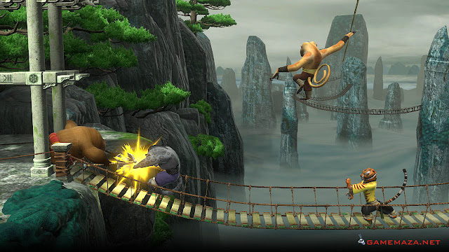 Kung Fu Panda Showdown Of Legendary Legends Gameplay Screenshot 1