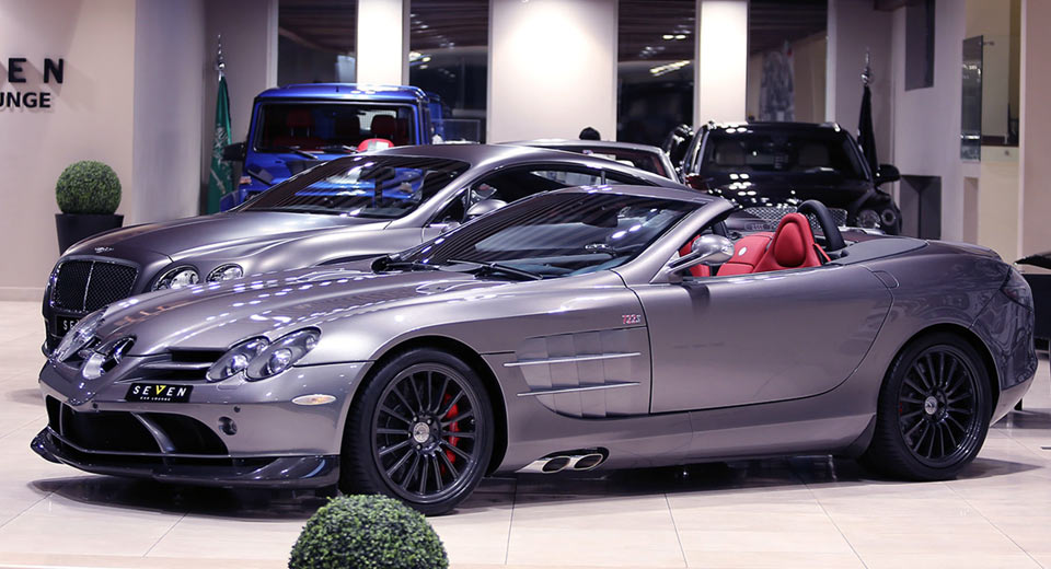 this rare mercedes slr 722 s roadster needs a new home