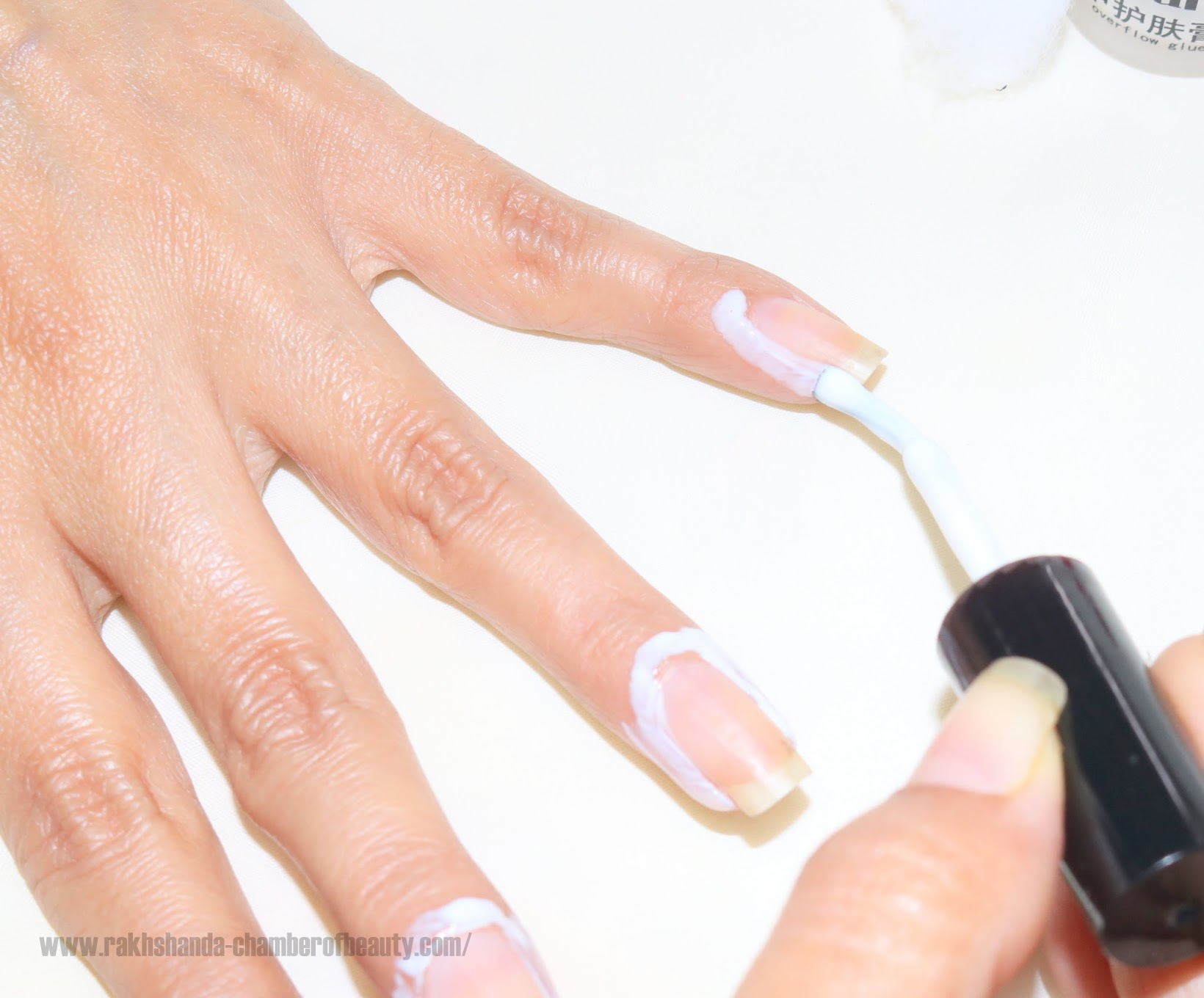 Born Pretty Anti-Overflow Glue Review & How to Use it