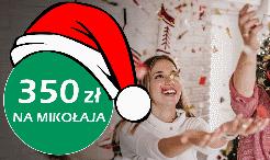 350 zł na Mikołajki za konto BNP Paribas