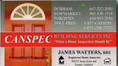 Toronto Home Inspection Services, Home Inspector Toronto James Watters