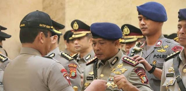 Kapolda Metro Jaya Lantik Empat Pejabat Baru