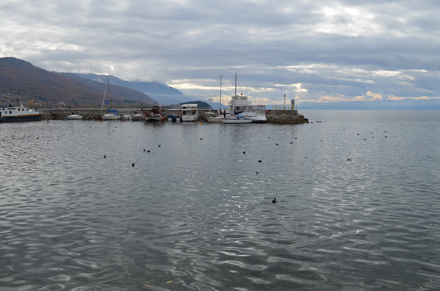 охрид вода