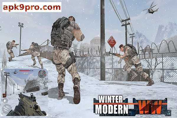Rules of Modern World War: Free FPS Shooting Games v3.2.4 Apk + Mod (File size 96 MB) for android