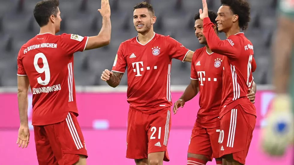 Champions Bayern Munich continued their red-hot form to open the new season