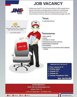 Kerjabatam.com PENGUMUMAN RESMI LOKER PT. TIKI JNE