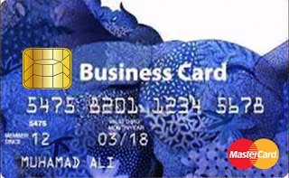 Gambar Kartu Kredit BRI Business Card