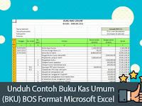 Unduh Contoh Buku Kas Umum (BKU) BOS Format Microsoft Excel