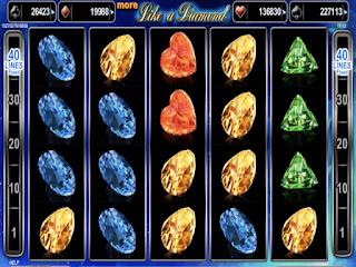 Diamond Dice Poker Slot