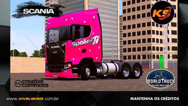 SCANIA S730 - SPOLIER TRANSPORTES