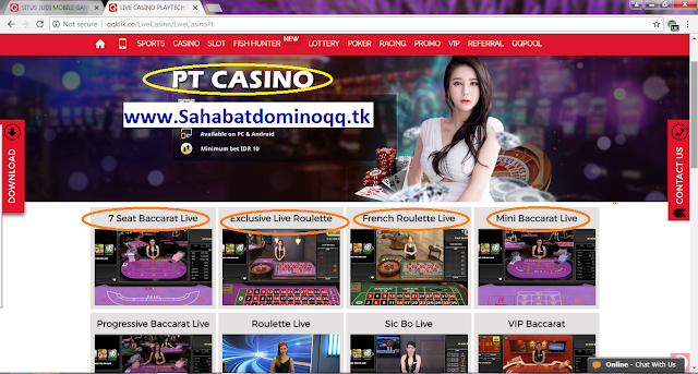 QQKLIK SITUS GAMES LIVE CASINO ONLINE MOBILE PT CASINO-FRENCH ROULETTE-EXCLUSIVE LIVE ROULETTE TERPERCAYA INDONESIA
