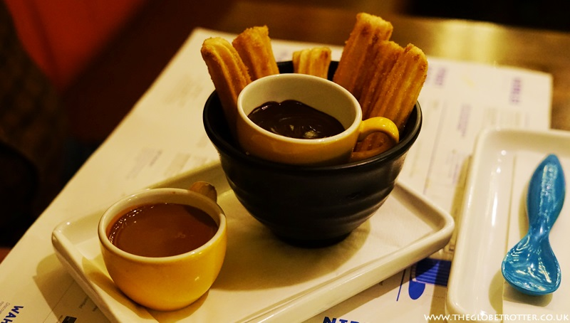 Churros at Wahaca Shoreditch