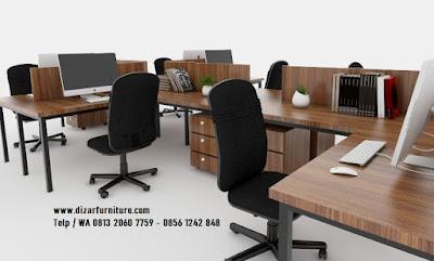 meja cubicle industrial