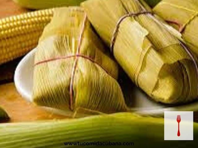 Tamal en hoja - Receta Cubana