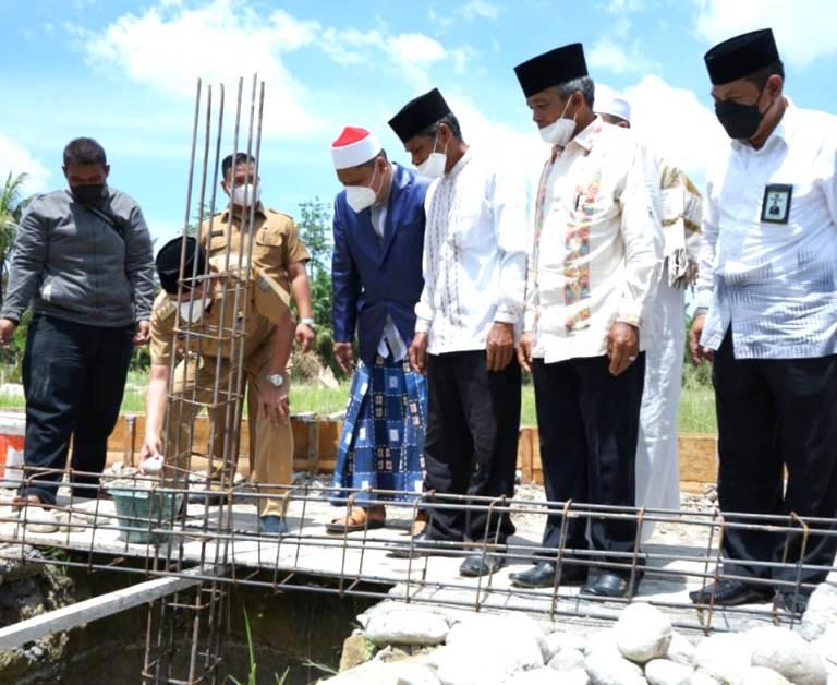 Pembangunan Ponpes Bina Ulama Kisaran, Berikut Harapan Bupati Asahan