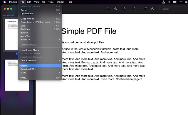 reduce the size of your document on mac big sur