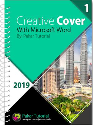 Contoh Cover Makalah yang Dibuat dengan Word dan PowerPoint