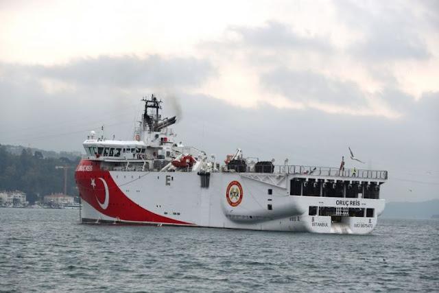 Τσαβούσογλου: Καθ' οδόν προς την Αν. Μεσόγειο το πλοίο «Ορούτς Ρέις»