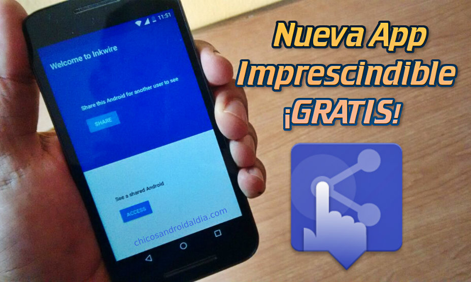 Compartir la pantalla a otros usuarios de Android con InKwire