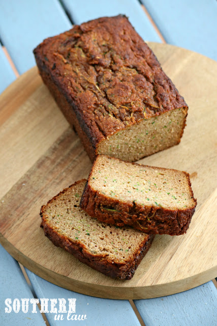 The Best Paleo Zucchini Bread Recipe - low fat, gluten free, low sugar, refined sugar free, low carb, dairy free, grain free, paleo