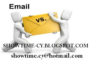 EMAIL ΕΠΙΚΟΙΝΩΝΙΑΣ SHOWTIME-CY