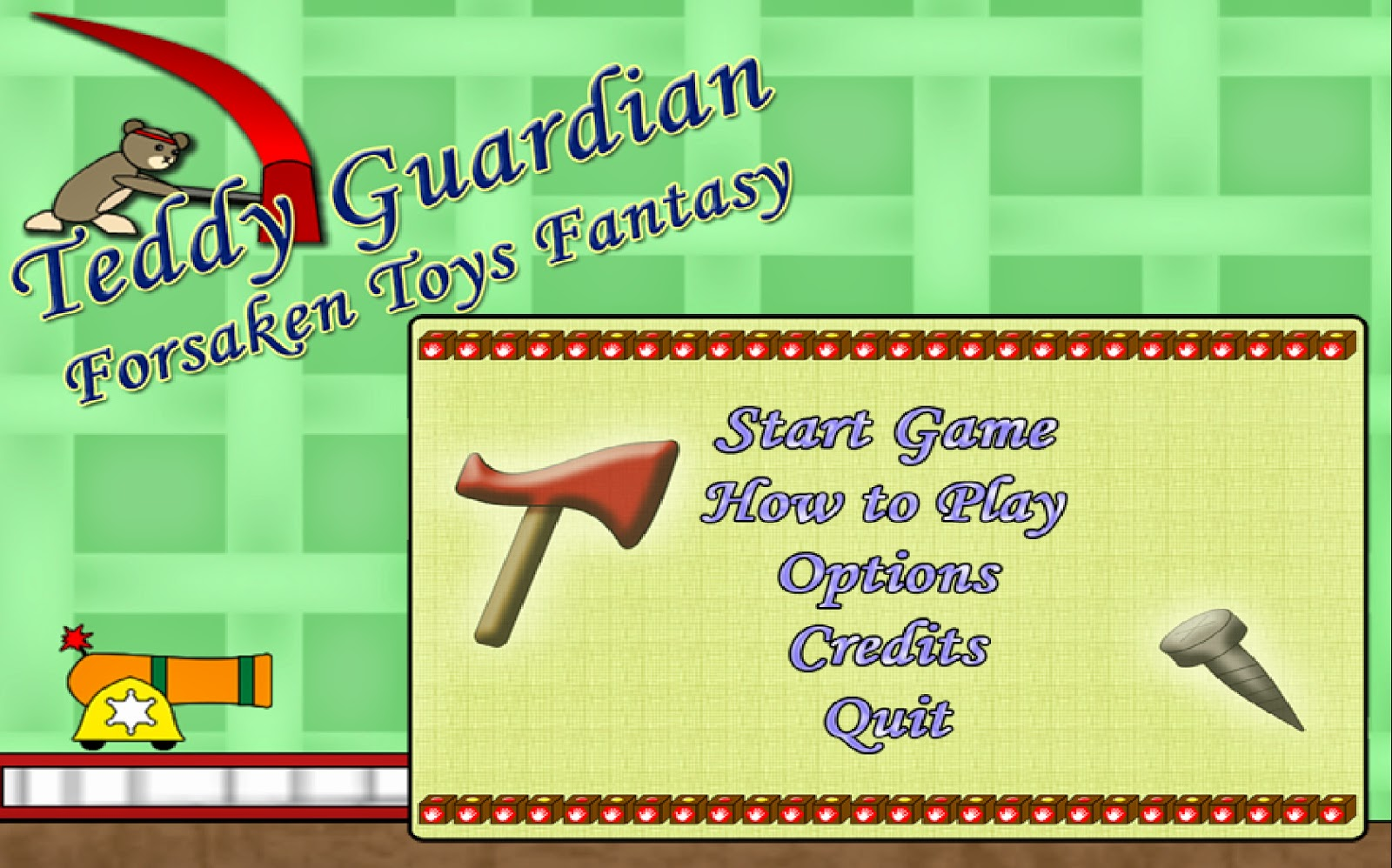 Teddy Guardian: Forsaken Toys' Fantasy
