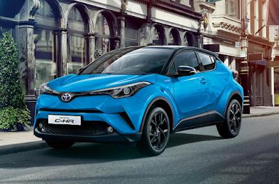 Harga Toyota C-HR Hybrid 2019 dan Spesifikasinya