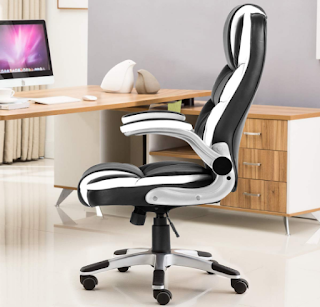 YAMASORO High-Back Exclusive Office Chair Leather