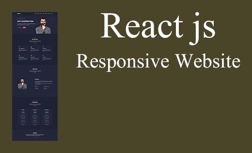 React JS Website