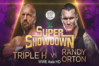 WWE Super Show Down AsiaSat 5 Biss Key 7 June 2019