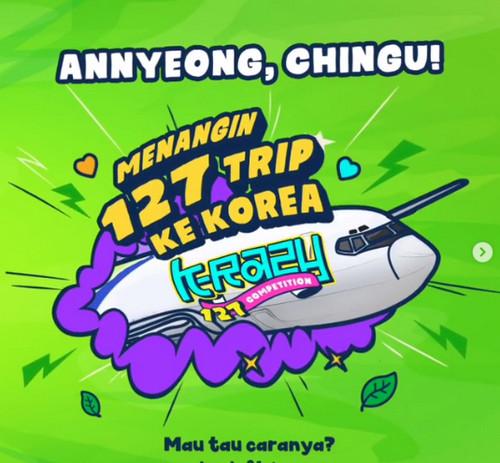 Nu Tea K-Razy Competition Berhadiah 127 Paket Trip ke Korea
