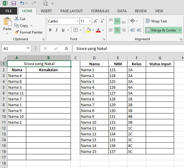 Cara Mengetahui Data yang Tidak Ada di Microsoft Excel