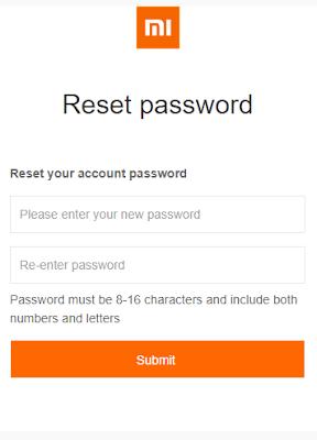 Cara Mengembalikan Akun Mi Cloud (Reset) Karena Lupa Password 6
