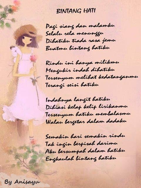 PUISI CINTA BY ANISAYU: Kumpulan Puisi Cinta Romantis ...