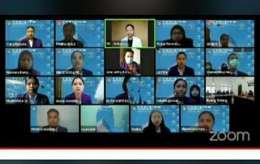 Patuhi Protokol Kesehatan, Fikes Unitri Gelar Yudisium Secara Virtual