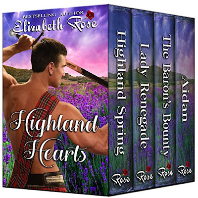 Highland Hearts book collection by Elizabeth Rose