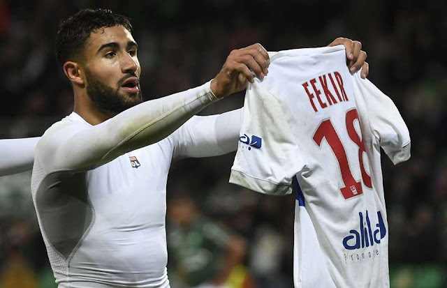 """Almost Done"" - £60m Deal on cards for Lyon's Nabil Fekir as Alexis Sanchez replacement"