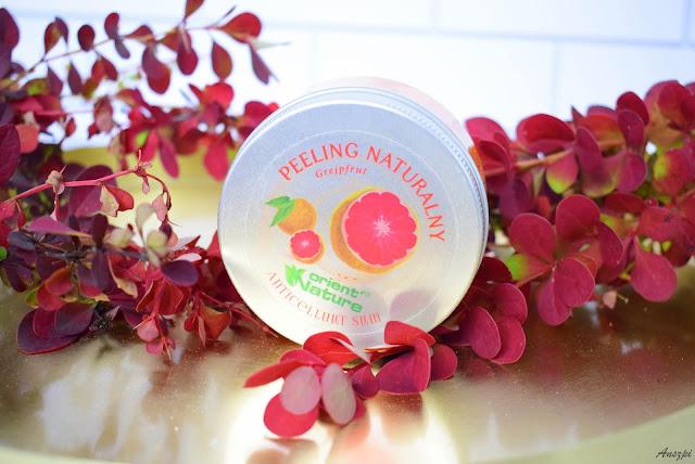 Peeling naturalny grejpfrut orient nature