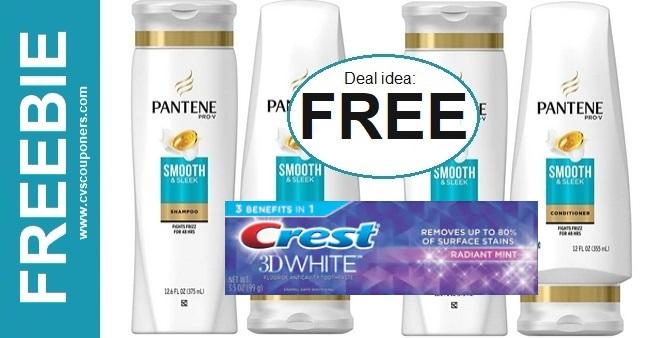 FREE Pantene CVS Coupon Deal 11-22-11-28