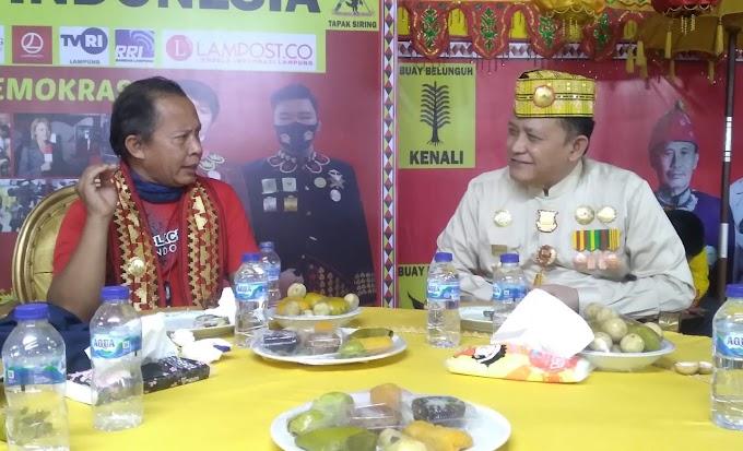 Irjen Pol (Purn) DR. Ike Edwin Sambut Rombongan Komjen Pol. (Purn) Arif Wahyunadi di LGK
