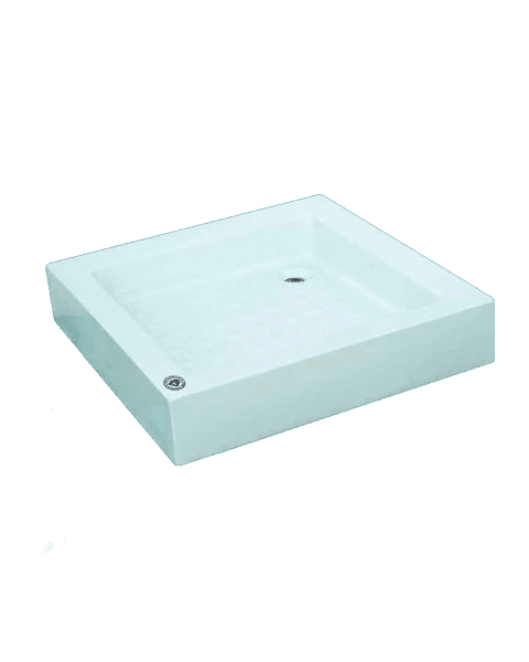 بانيو قدم مربع 90×90سم أميرة - الجوهرة أكريلك