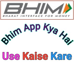 Bhim App Kya hai Use kaise Kare In Hindi-