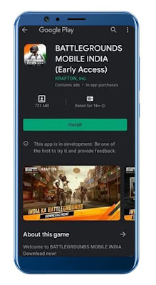 Early Access Download link is here for Battlegrounds Mobile India (BGMI)