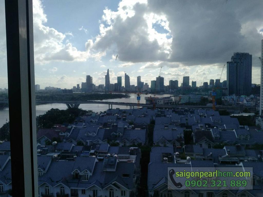 Saigon Pearl - Ruby 1 bán căn hộ 140m2 - view biệt thự, sông sài gòn và quận 1