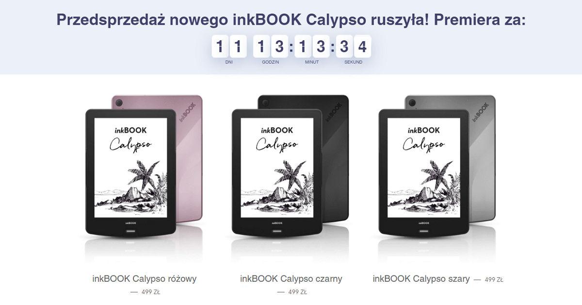 Przedsprzedaż czytnika InkBOOK Calypso