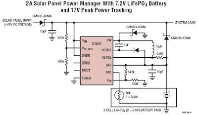 Solar Panel Circuit Diagram